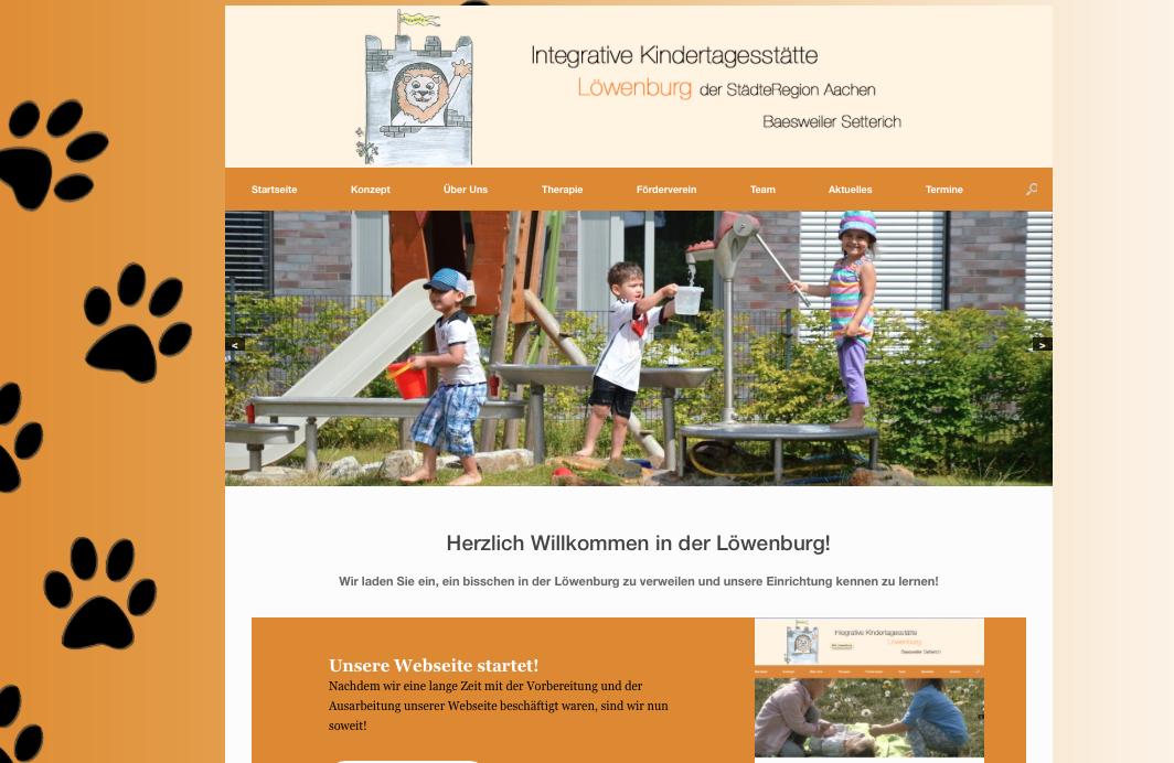 Unsere Webseite geht online!!
